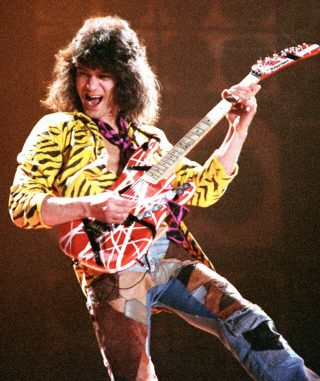 Van Halen Guitarist Eddie Halens Eruption Solo Has Emerged The Victor Of An Extensive Summer Long Poll Conducted By Guitar World To Determine