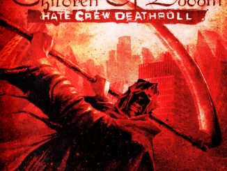 Hate crew deathroll album cover
