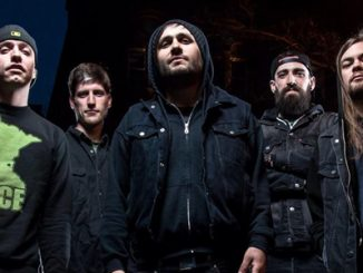 After The Burial 2013 promo photo Thrash Hits