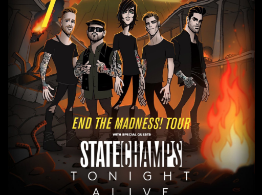 Sleeping With Sirens End The Madness Tour details